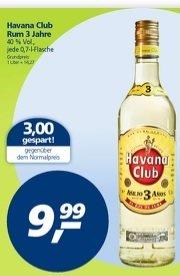 [Offline @Real] Havanna Club - 3 Jahre - Rum