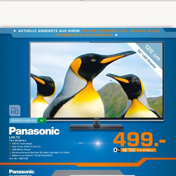 Panasonic TX-L50EM6E 126 cm LED-TV [Lokal Saturn]