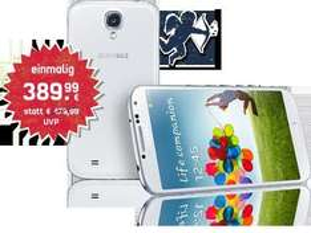 Samsung Galaxy S4 für 389,99€ ohne Vertrag bei mobilcom-debitel