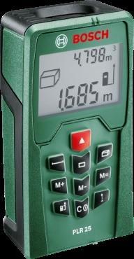 Bosch PLR 25 Laserentfernungsmessser bei Amazon oder Redcoon ab 58,67,-