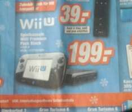 WiiU Premium Pack Black bei Expert (Lokal: Sachsen) für 199,- €