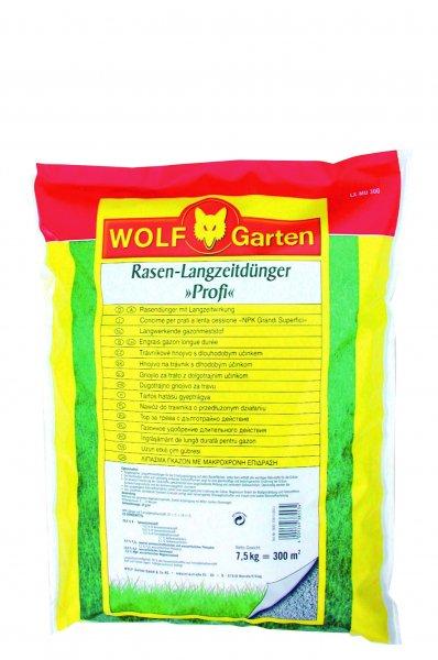 Wolf Garten Rasen-Langzeitdünger Profi LX-MU 300, 7,5 kg - 5 Euro!