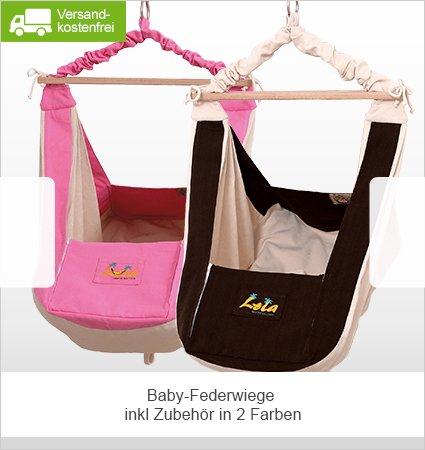 Lola Baby-Federwiege - Perfekter Schlafplatz, Geborgenheit und Ruhe für Dein Baby