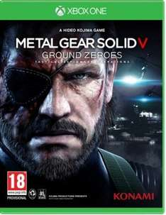 PS4 / Xbox One Metal Gear Solid V: Ground Zeroes für ca. 30,13€