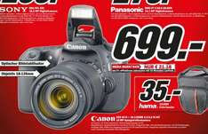 Canon EOS 60D + 18-135mm IS 699€ Lokal [Mediamarkt Jena]