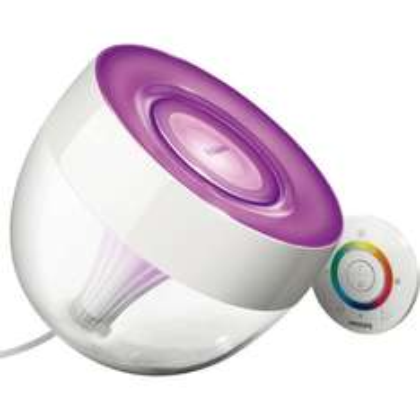 """Philips LivingColors """"Iris"""" clear + Adapter für 60 euro - mit QIPU sogar nur 54 Euro VSK Frei  bei Karstadt - Tiefstpreis"""