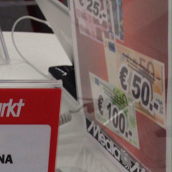 Media Markt offline(lokal?)ab 999€ 100€ einkaufsgutschein