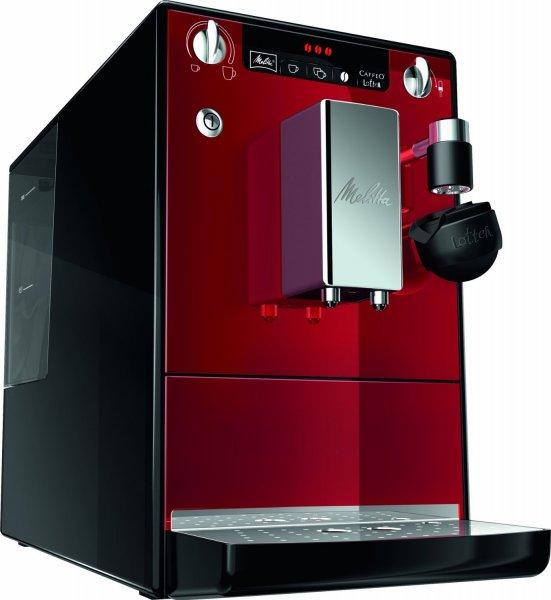 Melitta E 955-102 Kaffeevollautomat CAFFEO® LATTEA® rot Latte Macchiato  @amazon Warehouse