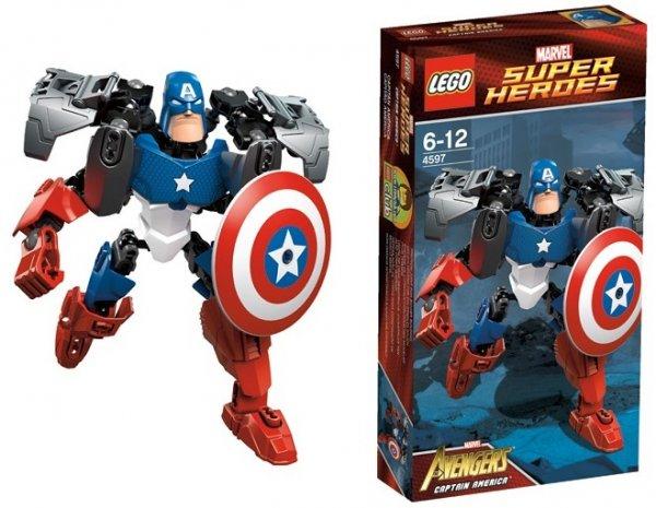 LEGO Super Heroes 4597 - Captain America EOL