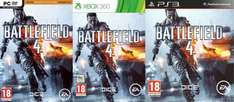XBox360/PS3/PC - Battlefield 4 ab €18,25 [@Zavvi.com]