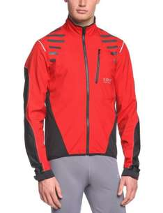 [Amazon] GORE BIKE WEAR Herren Jacke Fusion Cross 2.0 Active Shell red/grey versch. Größen