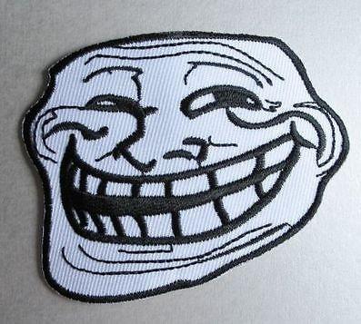 Trollface / Meme Patch Aufnäher