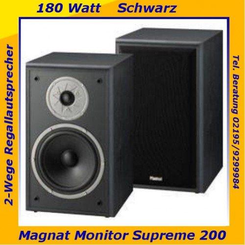 WIEDER VERFÜGBAR: Magnat Monitor Supreme 200, Lautsprecher, B-Ware