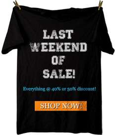 Captain KYSO - LAST WEEKEND SALE über 60 T-Shirt Designs im SALE bis zu 50%