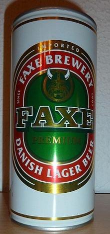 [Thomas Philipps] FAXE 1 Liter Dose 1,11€ + Pfand (25ct)