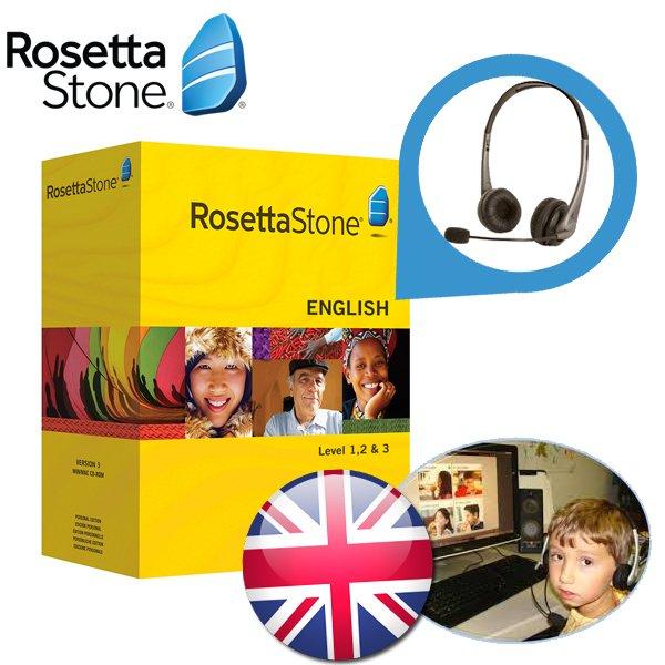Rosetta Stone Englisch Kursstufe 1 / m 3 @Ibood Extra