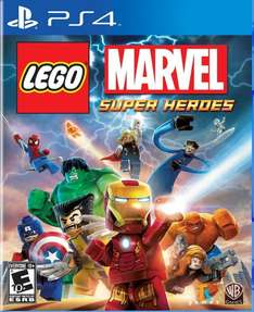 [US PSN] Flash Sale - u.a. Lego Marvel Heroes PS4 für ~22€