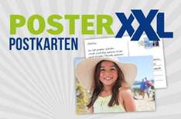 6 gratis Postkarten über die PosterXXL Postkarten App verschicken