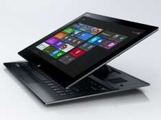 "Amazon WHD: ""Sehr gut"" : Sony VAIO Duo SVD1321M9EB (13,3 Zoll Touch) 3G Convertible Ultrabook (Intel Core i5) schwarz"