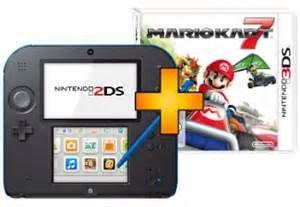 [LOKAL Saturn Bremen City] Nintendo 2DS (Blau/Schwarz oder Rot/Weiß) + Mario Kart 7