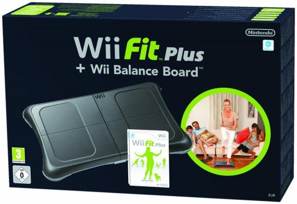 Nintendo™ - Wii Fit Plus + Balance Board (Schwarz) für €54,90 [@GetGoods.de]