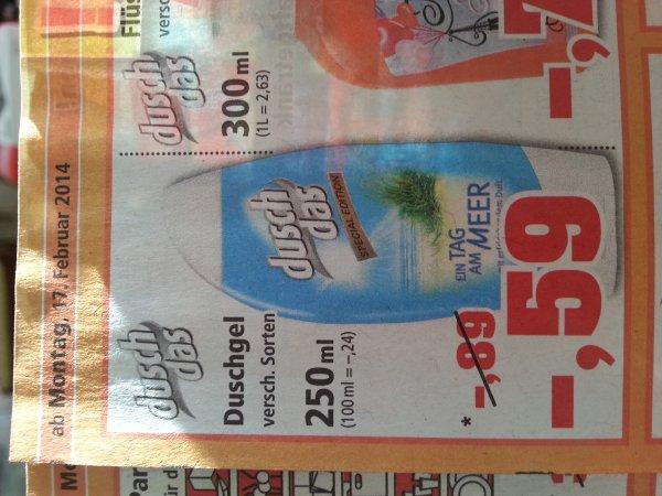 Dusch das bei Philipps für 59 cent