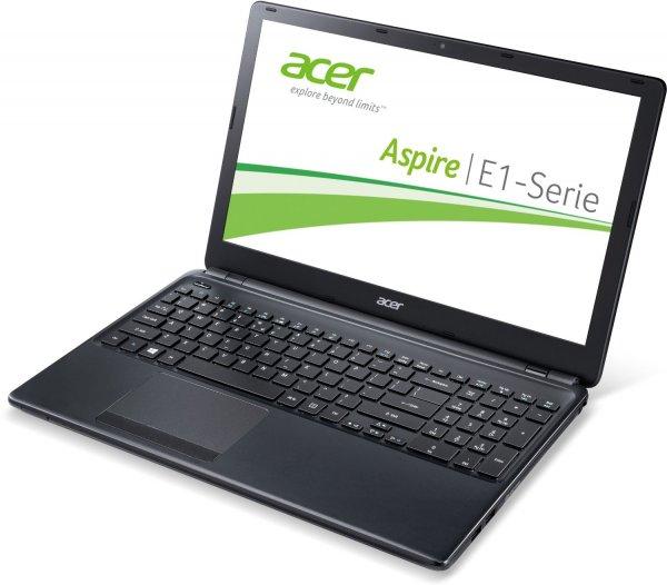 """Acer Aspire E1-530 - Einfaches 15"""" Dualcore-Notebook mit 500 GB und 4 GB RAM ohne OS - Amazon Blitzangebot!"""