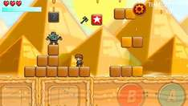 Heavy Sword [iOS] - Mix aus Super Mario / Zelda