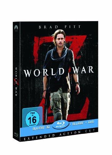 World War Z 3D Superset (+ Blu-ray + DVD) @ Amazon