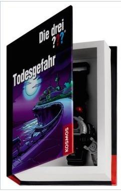 Als Buch getarntes Geheimfach / Geheimbuch - Die drei ??? für € 4,99 @terrashop.de (VSK frei)