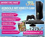 Xbox Slim 4GB Kinect Bundle inkl. Kinect Adventures (346,03€ als 250GB)
