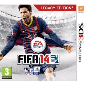 FIFA 14: Legacy Edition Nintendo 3DS für 26,80€ inkl. Versand