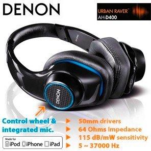 Denon AH-D401 Urban Raver On-Ear für 50€ @Redcoon