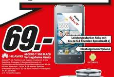 Huawei Ascend Y300 Black 69€,Epson WorkForce WF-2540WF 69€,Philips 46PFL3208K 399€ Lokal [Mediamarkt Siegen]