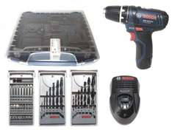 Bosch Akku-Bohrschrauber GSR 10,8-2-LI Professional 0615990FM7/ i-boxx/ Bosch-blau