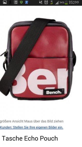 Bench Herren Tasche Echo Pouch, tibetan red, 17 x 6 x 23 cm, BMXA0452: Amazon.de: Sport & Freizeit