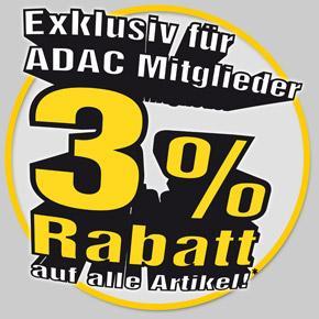 3% Rabatt bei pearl.de auf alle Artikel durch ADAC Mitgliedschaft