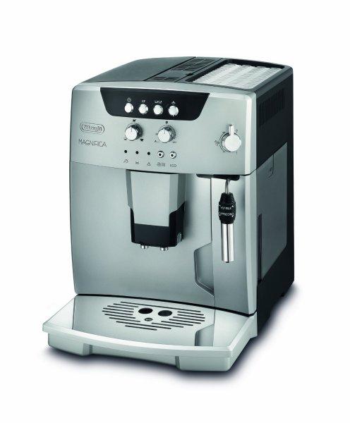 DeLonghi ESAM 04.120.S Kaffee-Vollautomat (1.8 l, Dampfdüse)