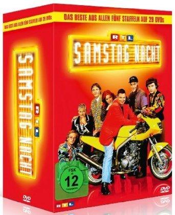 RTL Samstag Nacht - Das Beste aus allen fünf Staffeln auf 29 DVDs @Amazon.de