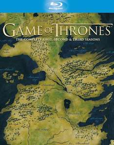 Game of Thrones Season 1-3 Blu-Ray Box (~66,80 €) [Zavvi.com]