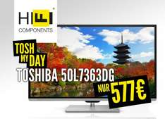 Tosh my Day! 50 Zoll Toshiba 3D LED TV für 577 € (statt normal 699 €)