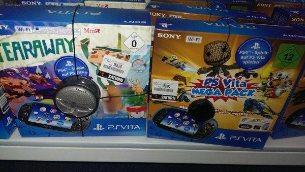 [Lokal?-Solingen-SATURN] PS Vita Wifi Mega Pack oder Tearaway Bundle je 169€
