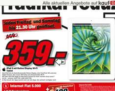 Media Markt [Düsseldorf-Bilk] iPad 4 16 GB Wifi (idealo 449€)