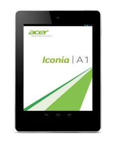 Acer Iconia A1-810 20.1 cm (7,9 Zoll) Tablet ivory gold @ Amazon