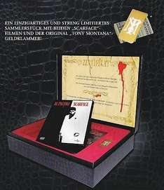 [29.49 €] Scarface - Limited Uncut Collectors Edition Box - inkl. Scarface 1932+1983 - im Kroko-Design