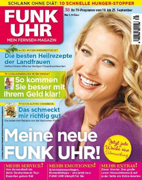Funk Uhr Abo (13 Hefte) + 15€ Driverschoice Gutschein für 14,30€