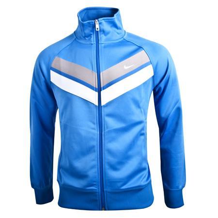 Nike Trainings(-Freizeit)jacke Ath Dept Striker in Blau (M,XL) und Weiß (XL) @Engelhorn