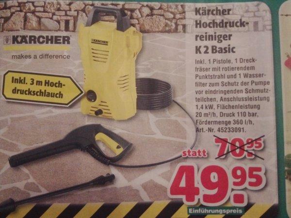 (Lokal München + Umgebung) Kärcher Hochdruckreiniger K2 Basic