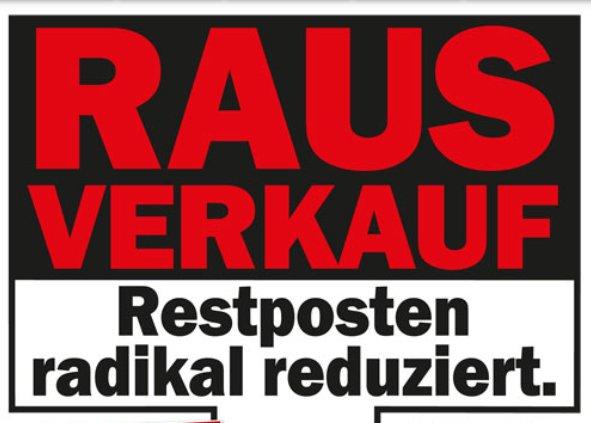 [lokal] (Sammelthread) Media Markt Düsseldorf Bilk Restposten Ausverkauf Freitag und Samstag