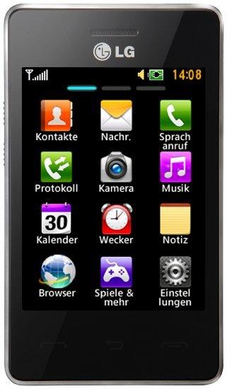 (((Amazon WHD))) LG T385 Smartphone (8,1 cm (3,2 Zoll) Touchscreen, 2 Megapixel Kamera) schwarz 9,78€ + Versand